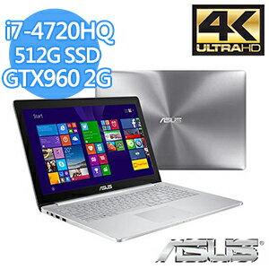 ASUS UX501JW-0352A4720HQ  家用筆記型電腦 I7-4720HQ/16G/512G/GTX960M/WIN8.1