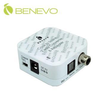 BENEVO UltraVideo 數位同軸與光纖雙向音源轉換器 ( BDAC02 )