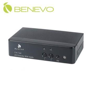 BENEVO UltraVideo 2埠DVI影音切換器 ( BDAS201 )