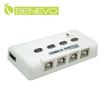 BENEVO 4埠USB2.0電子式切換器   BUS401
