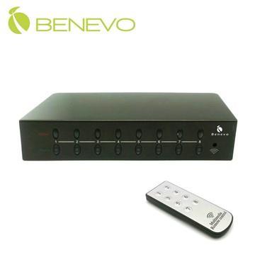 <br/><br/>  BENEVO UltraVideo 8埠VGA電子式視訊切換器 (BVS801)<br/><br/>