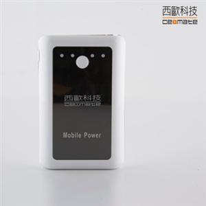 西歐科技 LED手電筒功能 雙USB 12800mha大容量行動電源 (CME-PB12800 )