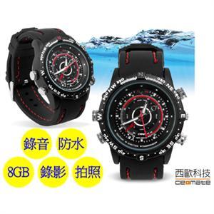 西歐科技 P5000-AP 時尚手錶造型防水錄影機