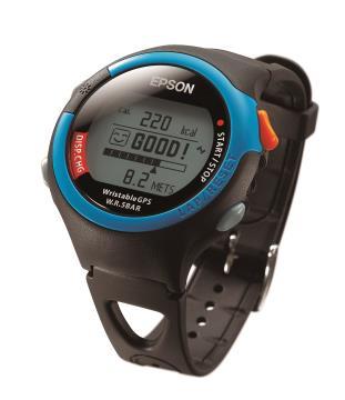 EPSON 鐵人腕式 GPS SS-301P 炫麗桃紅 /SS-301B 陽光勁藍 兩色