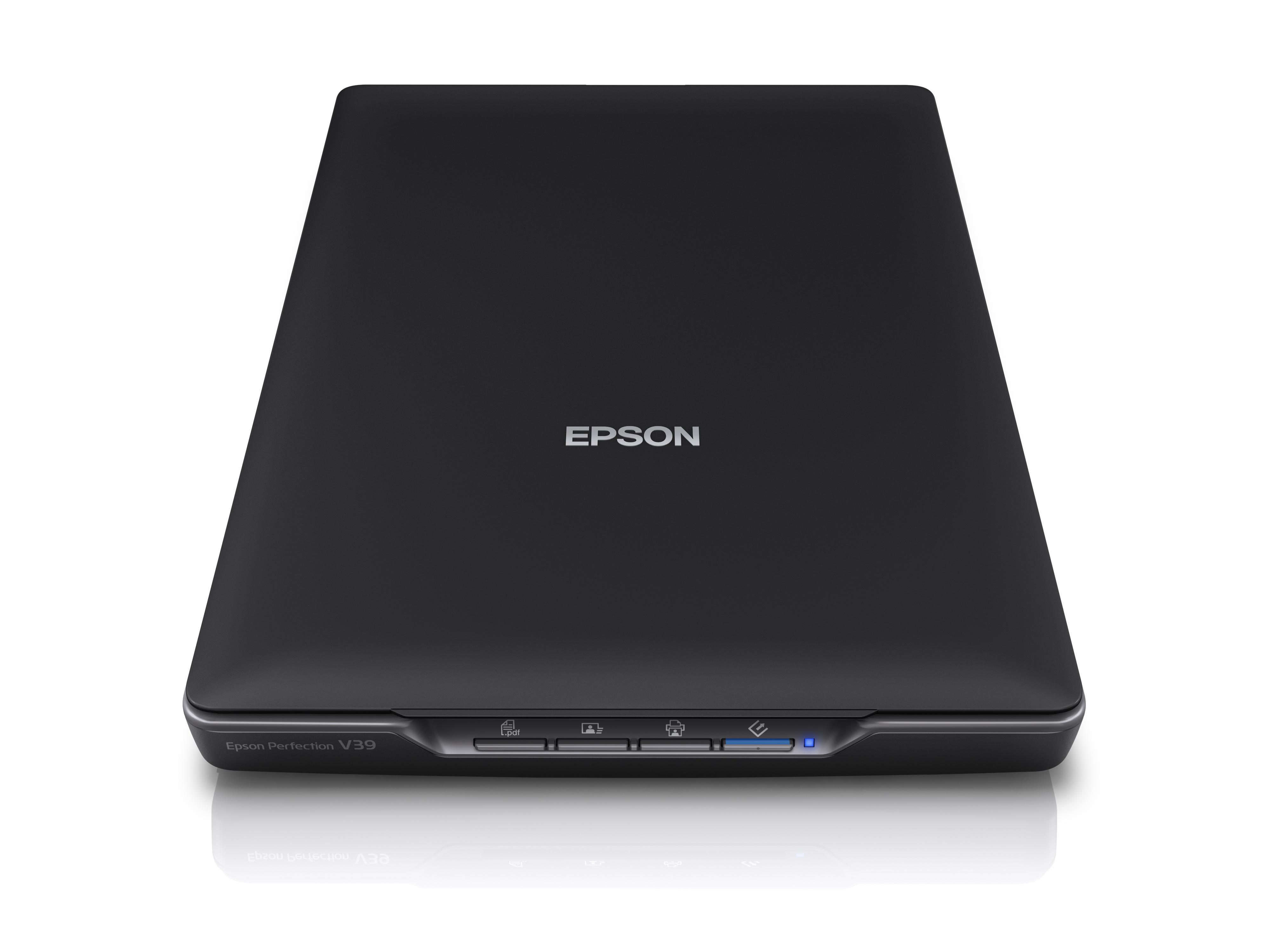 EPSON Perfection V39 輕薄照片/書本掃描器