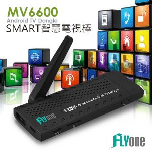 <br/><br/>  FLYone MV6600 四核Android SMART智慧電視棒<br/><br/>