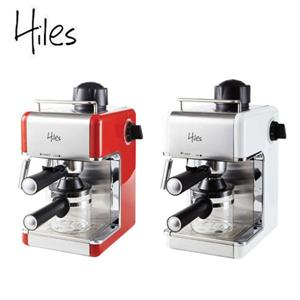 Hiles皇家系列義式高壓蒸氣咖啡機(HE-307) (紅/白 兩色)