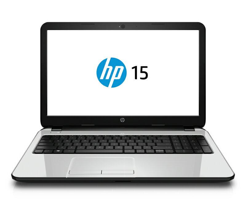 "HP 15-r233TU 白色15.6"" ( L1M05PA ) 筆記型電腦 Intel Pentium N3540 Quad Core/4GD3 Intel HD Graphics 5500 /500GB DVD RW / Windows 8.1/一年保固"