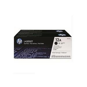 HP Q2612AD 黑色碳粉匣^(雙包裝^)