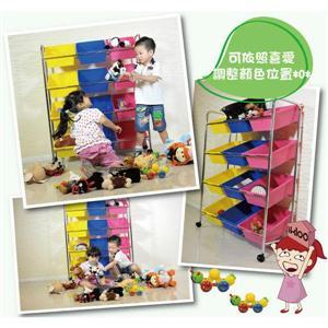【ikloo】可移式12格玩具收納組 (BN117-300006-000 )