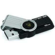 Kingston DataTraveler 101 G2 16GB 黑色隨身碟 ( DT101G2/16GB )