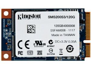 Kingston 金士頓SMS200S3/120G mSATA SSD 固態硬碟