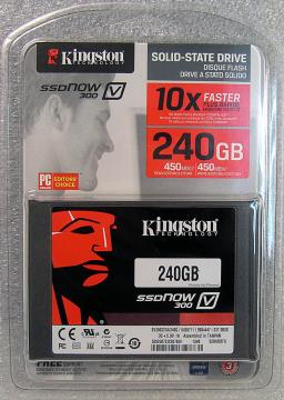 Kingston V300 240GB SATA3 2.5 SSD  固態硬碟 SV300S37A/240G