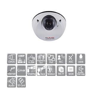 LILIN IPD2220ES4.3 1080P高畫質球型網路攝影機(4.3mm)