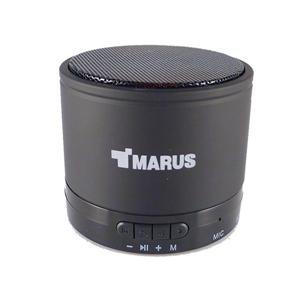 MARUS【馬路】鋁合金重低音行動藍牙喇叭可插卡+免持通話 (MSK06C) (黑/紅 兩色)