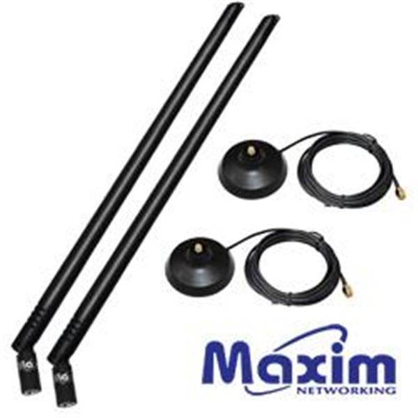 Maxim 2AN10-05D 10dBi 強力天線組合包*