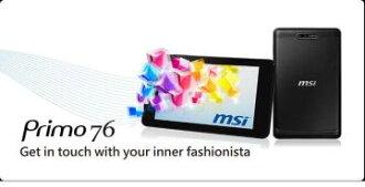 "MSI Primo 76-002TW-BB83891G16DA 7吋 平板電腦 (7""1280*800 IPS 多點觸控/ MTK8389(1.2G)四核心/ 1G/16G)"