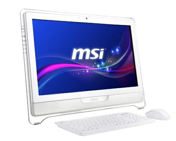 MSI微星AE2281- 014TW- WG8704G50S7PMX All-in-one 電腦 (21.5吋/G870 3.1G/HD 2000/4G/500GB/DVD燒/W7HP/1.3M/13.63KG)