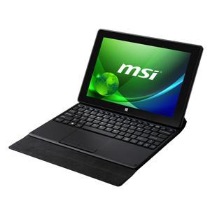 MSI微星 MSI S100-001TW-BB3735F2G64DX81B 電腦 10.1吋IPS Touch panel/ Z3735D (1.83GHz)四核心/2G D3/64 SSD/Win ..