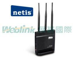 netis WF2409 黑極光無線寬頻分享器