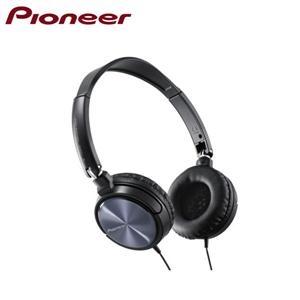 Pioneer迷你耳罩式耳機SE-MJ521-K(黑)