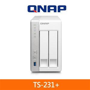 QNAP TS-231+ 網路儲存伺服器