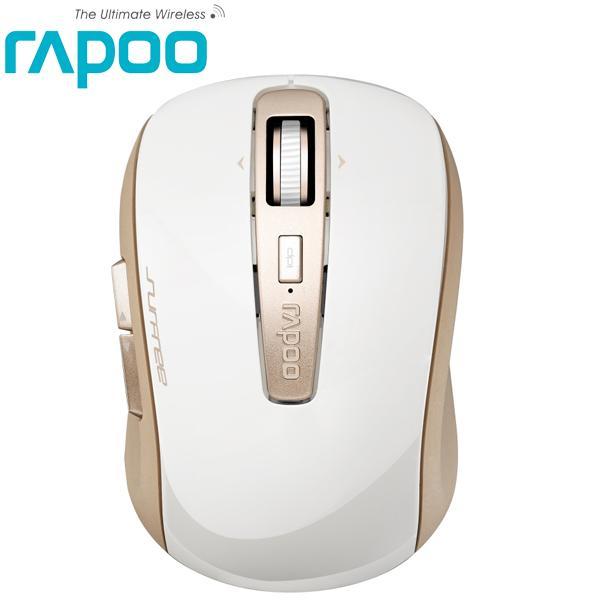 Rapoo 雷柏 3920P-香檳金-5.8G無線雷射滑鼠