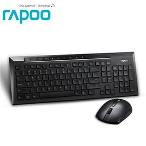 Rapoo 雷柏8200P- 5G無線光學鍵鼠組 (黑/白 兩色)