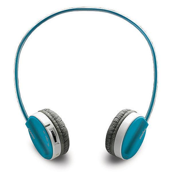 雷柏 H6020BU 藍芽無線耳機麥克風-藍