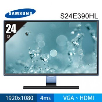 """SAMSUNG S24E390HL 23.6"""" 16:9  液晶螢幕"""