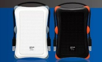 Silicon Power A30 HDD 1TB 2.5 U3行動硬碟 ( SP010TBPHDA30S3K ) (黑/白 兩色)