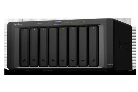 Synology Synology Atom四核2.4 CPU/2GB/8Bay/USBx4/eSATAx2/4LAN 網路儲存NAS伺服器 DS1815-PLUS