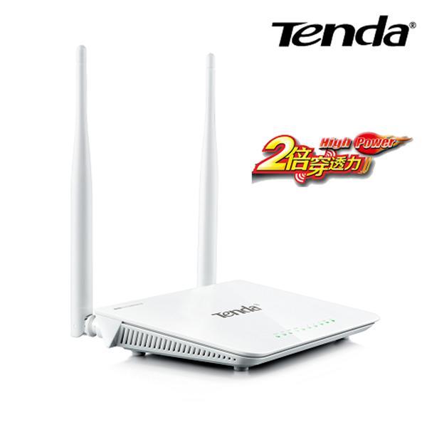 Tenda W3002R 11N 300M 2T2R 高功率大天線無線路由器