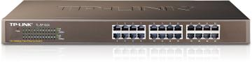 "TP-LINK TL-SF1024 10/100 Switch 24ports 19"" 鐵殼"