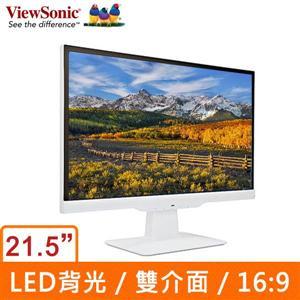 ViewSonic 優派 VX2263Smhl-W 21.5吋液晶顯示器
