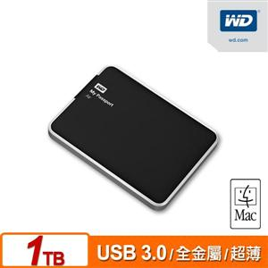 WD My Passport Air 1TB (MAC) 2.5吋金屬超薄行動硬碟