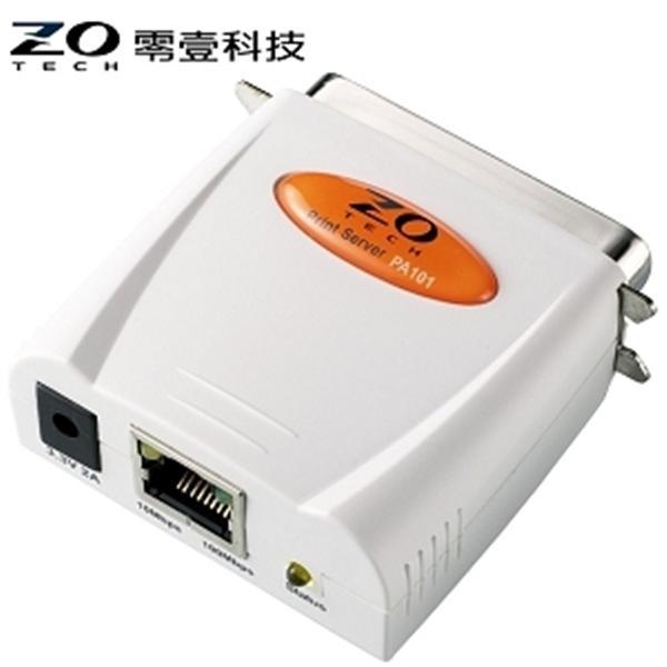 ZO TECH PA101 平行埠印表伺服器