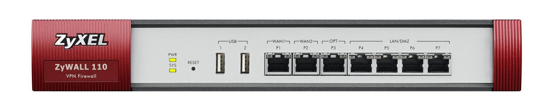 ZyXEL ZyWALL 110  網路安全設備閘道器
