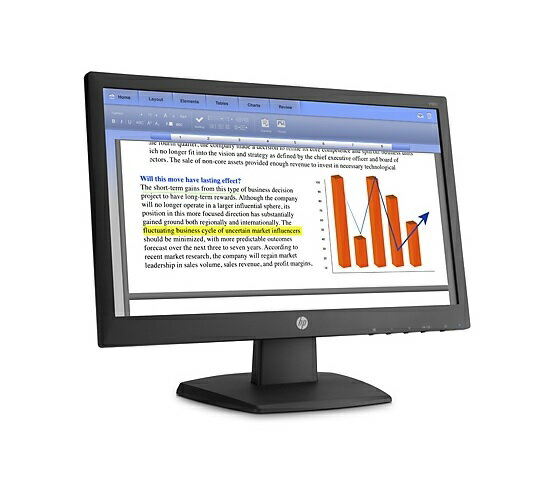 HP 惠普 L4S23AA (V193b LED Backlit Monitor) 18.5寸LED商用液晶顯示器