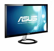 ASUS VX238H 23吋寬螢幕TFT LED液晶顯示器(黑色)