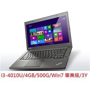 Lenovo T440 20B6A044TW-BAG  i3專業商務筆電 14吋i3-4010U/4GB/500G/Win7 專業版/3Y
