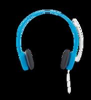 羅技 立體聲耳機麥克風 H150 藍 紅 白 三款