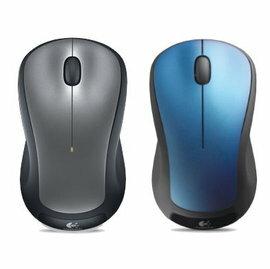 羅技 M310t 無線 雷射 滑鼠 2.4G 迷你 USB 接收器 雙手適用 銀色/藍色