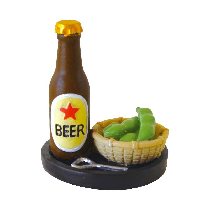 Decole 日本擺飾玩偶 / 公仔 / 道具 / 配件 - Concombre 啤酒與毛豆 ( ZSV-87938 ) 現貨