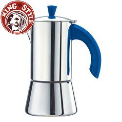 金時代書香咖啡 Tiamo 510摩卡壺4杯-JOLE