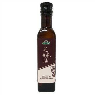 統一生機~原粒芝麻油250ml/罐