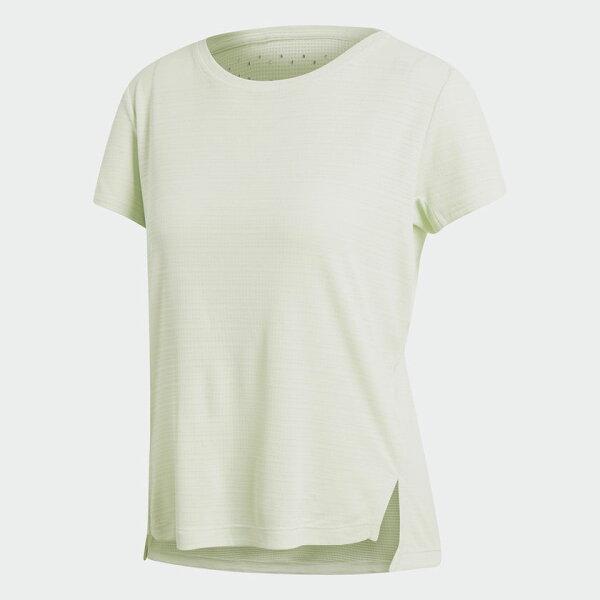 ADIDASFREELIFTCHILLTEE女裝上衣短袖訓練休閒排汗涼感綠【運動世界】CF4441