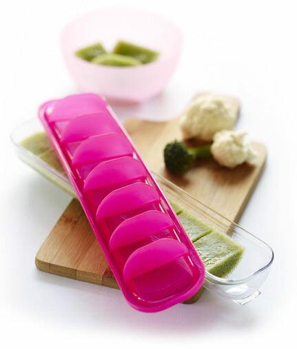 澳洲 Qubies 食物冷凍分裝盒-粉色