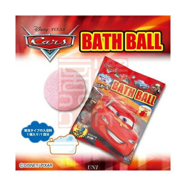 迪士尼 Disney 汽車總動員 閃電麥坤 Cars 沐浴球 入浴劑【尋寶生活小舖】
