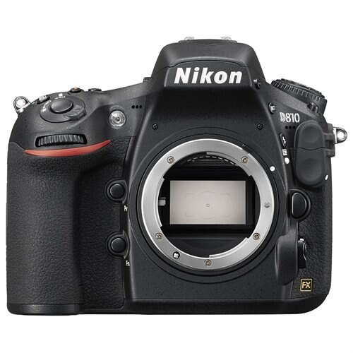 "Nikon D810 36.3 Megapixel Digital SLR Camera Body Only - Black - 3.2"" LCD - 16:9 - 7360 x 4912 Image - 1920 x 1080 Video - HDMI - PictBridge - HD Movie Mode 0"